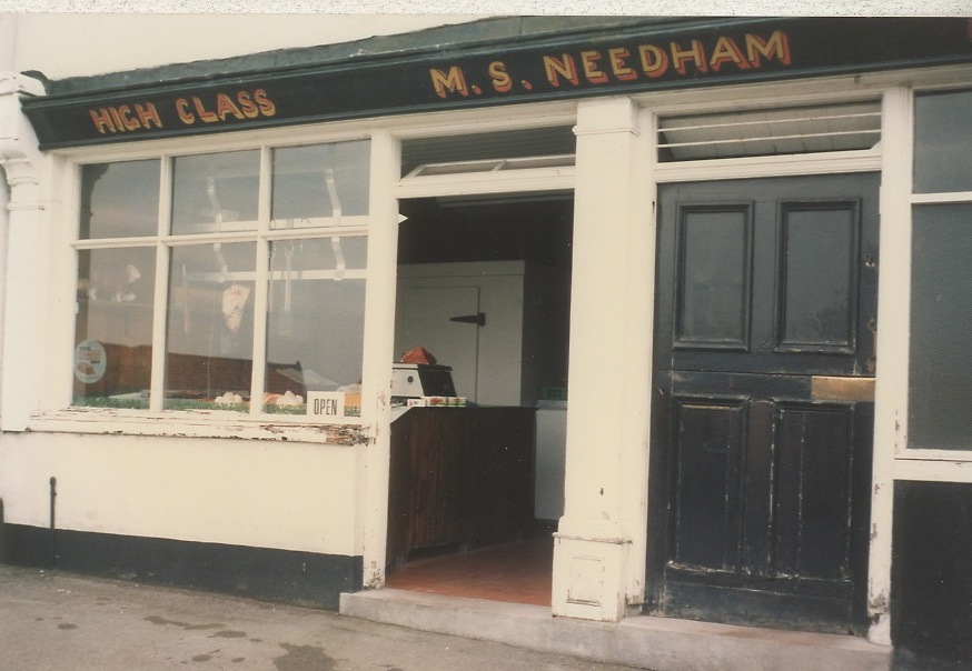 Needham Photograph Collection High Street Butchers Shop