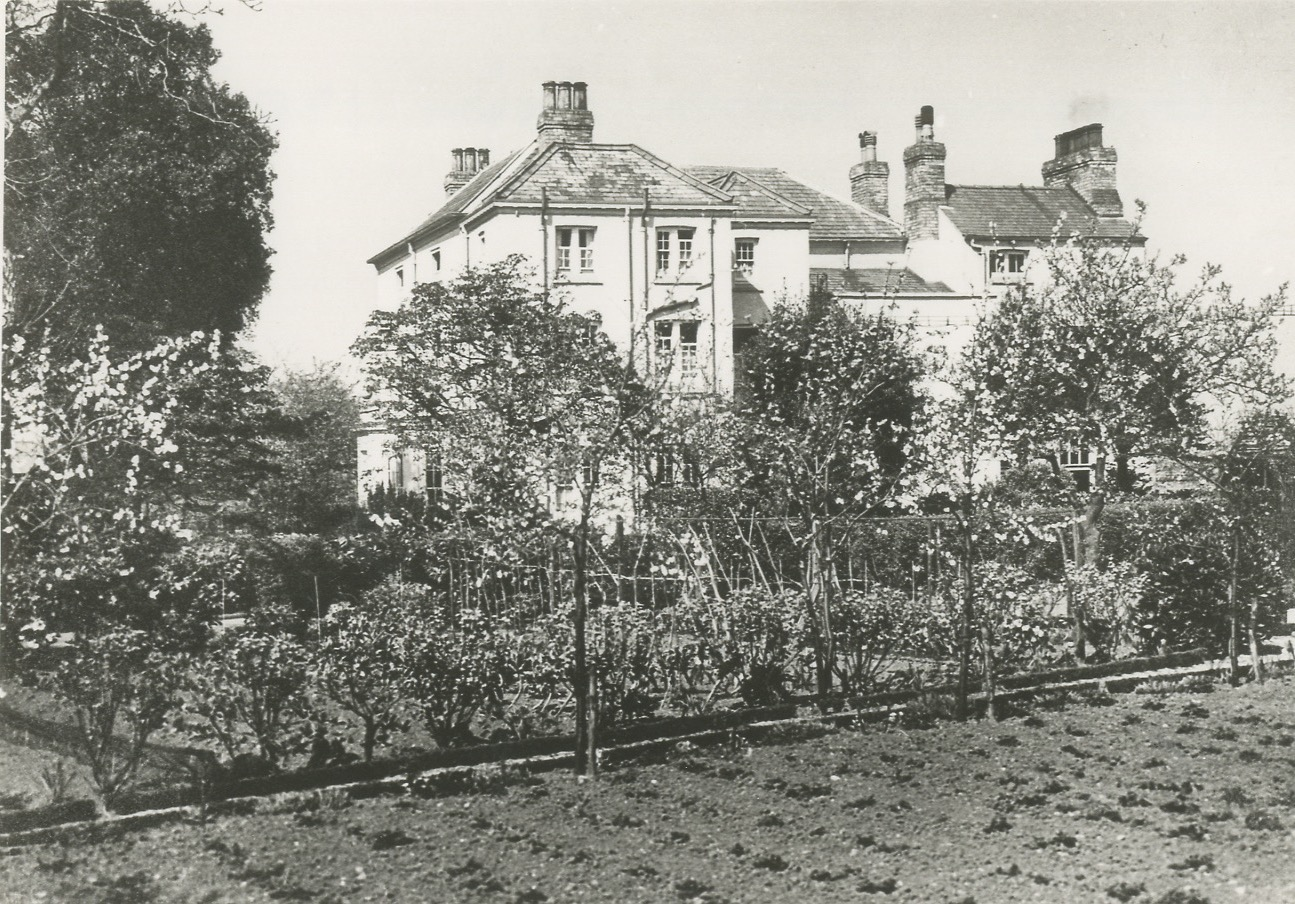 Gringley Hall Clubley Photos Veg Garden during WWII