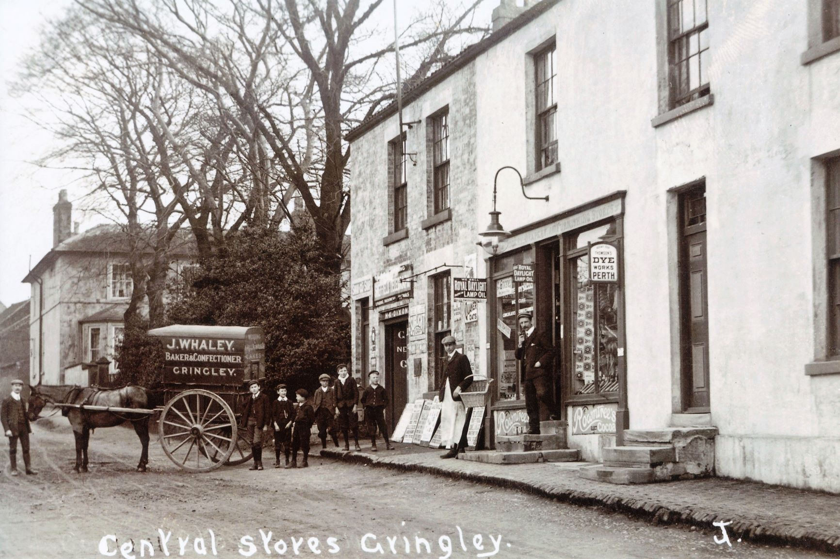 Gringley Central Stores Risgewood House version 2c1900 2