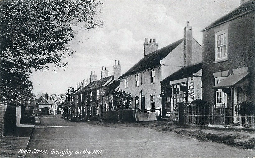 Gringley Printed Old Postcards Heidi High Street looking east
