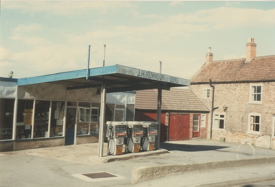 Needham Photograph Collection High Street Rennison Garage