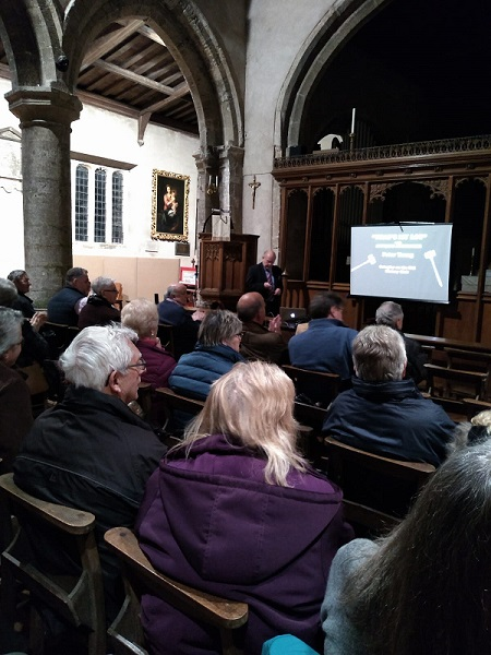 Image of Peter Young giving talk